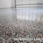 Cincinnati Bengals colored epoxy flake