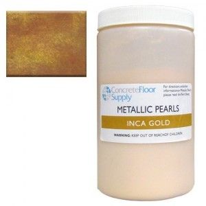 gold metallic epoxy pigment