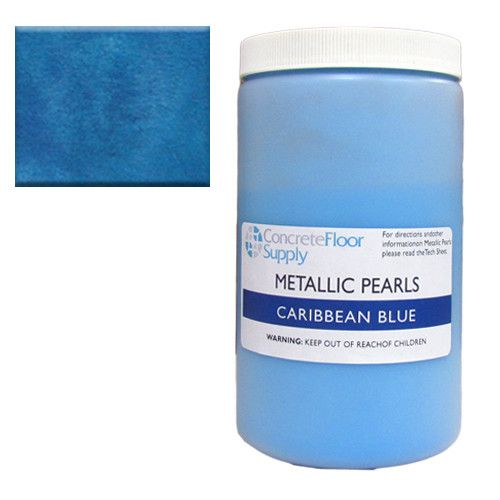 metallic pearl pigment blue