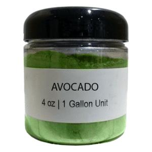 Avocado Colored Mica Powder Pigment