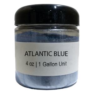 blue metallic epoxy pigment