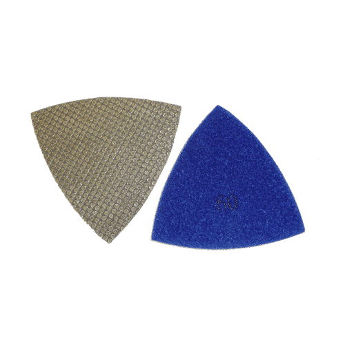 triangle diamond polishing pads