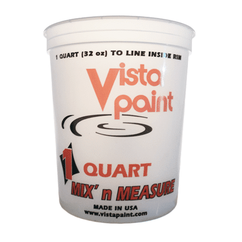 measure quart bucket