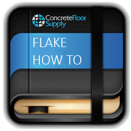 epoxy flake how to