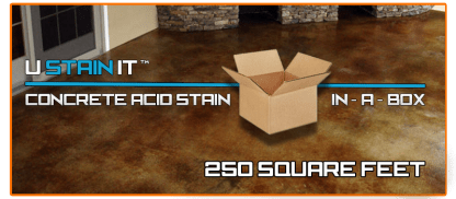 Acid Stain Kit 250 Square Feet