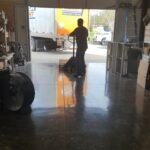 diy polished concrete floor