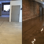 clear coat concrete flooring