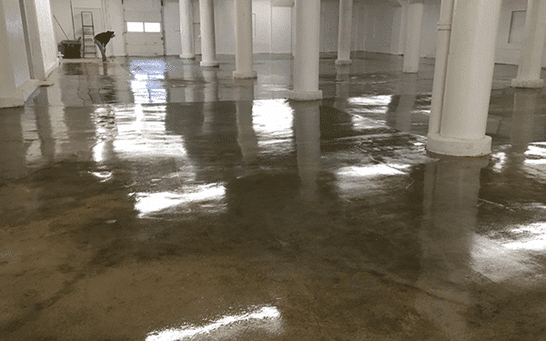 Clear Coat Cement : Epoxy clear coat concrete floor supply