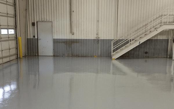 commercial garage color epoxy