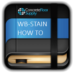 concrete water based stain instructions