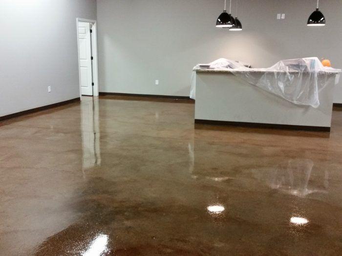 Acid Stained Floor